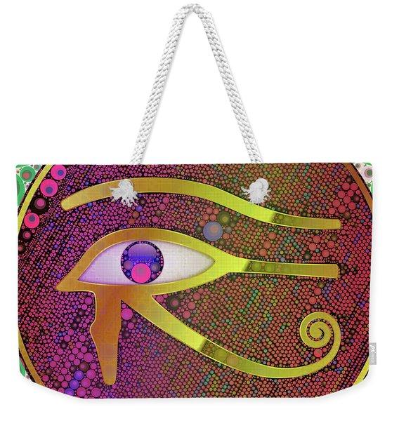 The Eye Of Horus, Pop Art By Mb Weekender Tote Bag