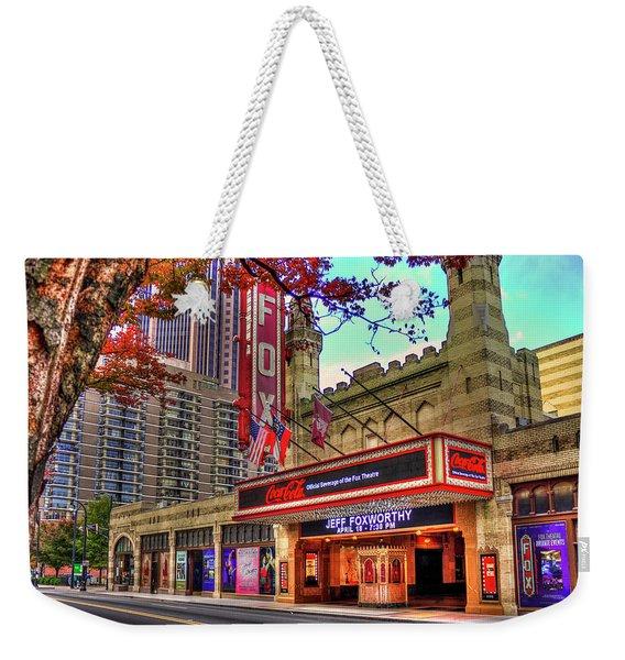 The Fabulous Fox Theatre Atlanta Georgia Art Weekender Tote Bag