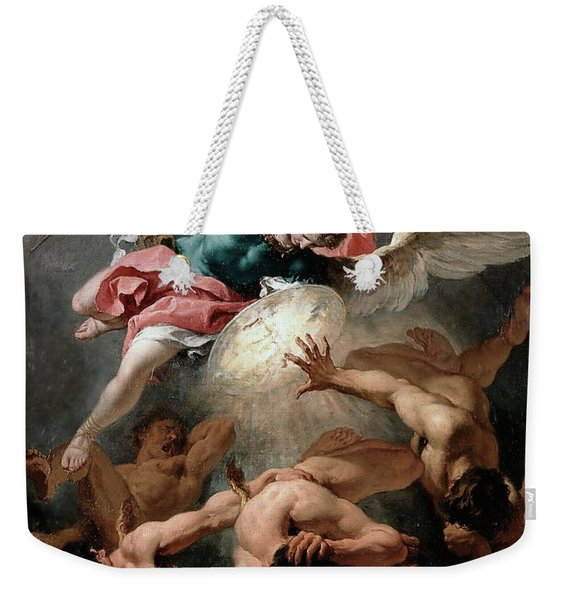 The Fall Of The Rebel Angels Weekender Tote Bag
