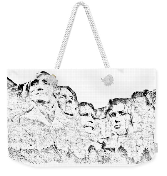 The Four Presidents Weekender Tote Bag