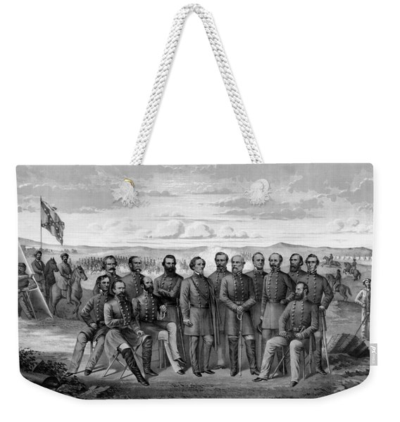 The Generals Of The Confederate Army Weekender Tote Bag