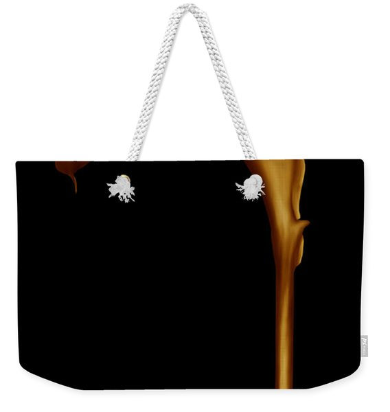 The Golden Calla Lilly Weekender Tote Bag