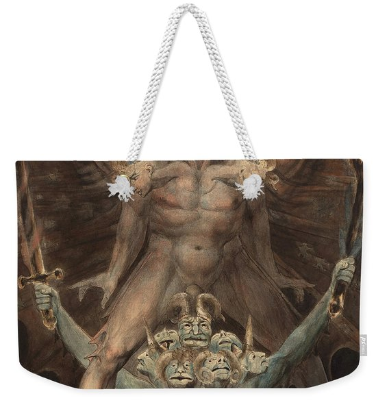 The Great Red Dragon And The Beast From The Sea Weekender Tote Bag