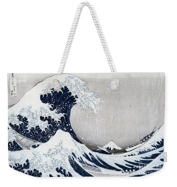 The Great Wave Of Kanagawa Weekender Tote Bag