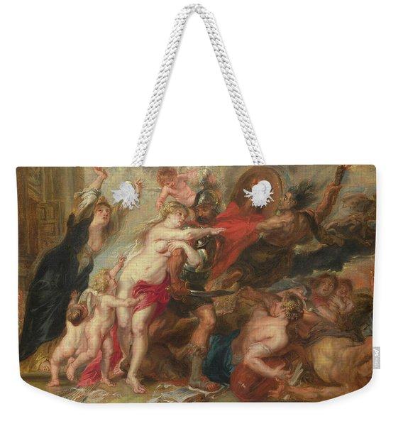 The Horrors Of War Weekender Tote Bag