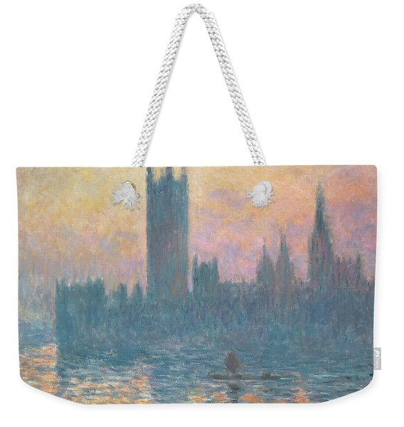 The Houses Of Parliament  Sunset Weekender Tote Bag