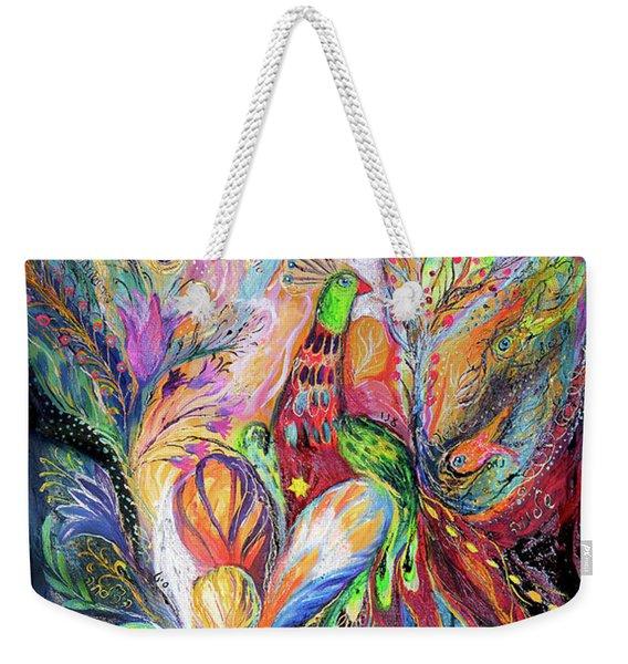 The King Bird Weekender Tote Bag