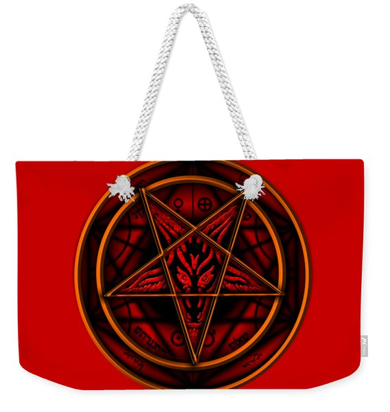 The Magick Circle Weekender Tote Bag