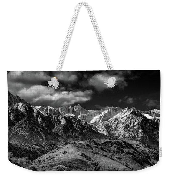 The Majestic Sierras Weekender Tote Bag