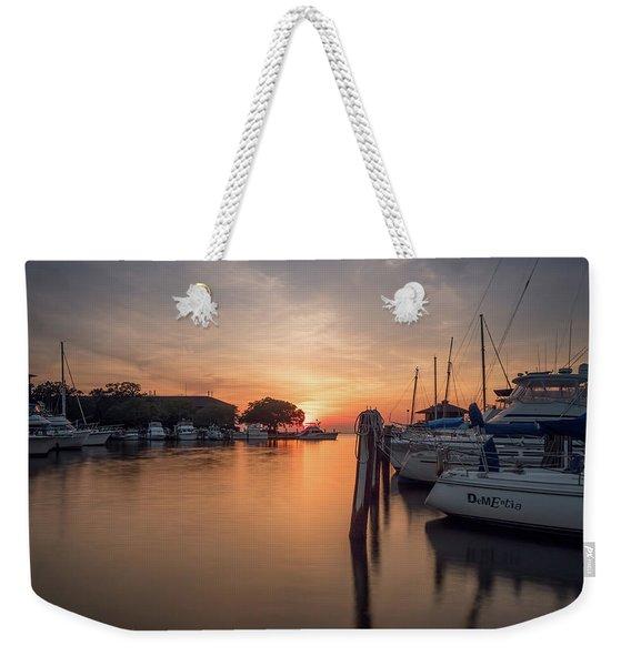 The Marina Weekender Tote Bag
