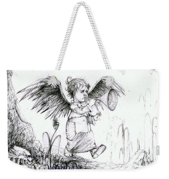the Messenger Weekender Tote Bag