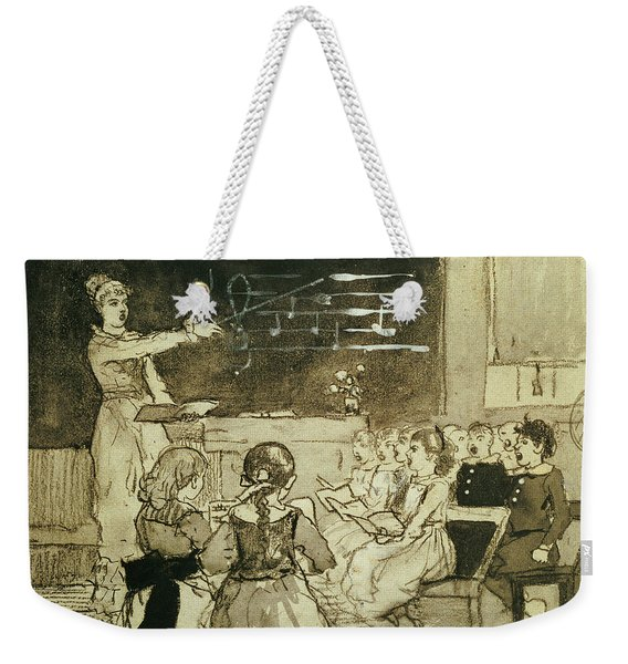 The Music Lesson Weekender Tote Bag