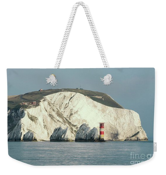 Weekender Tote Bag featuring the photograph The Needles by Clayton Bastiani