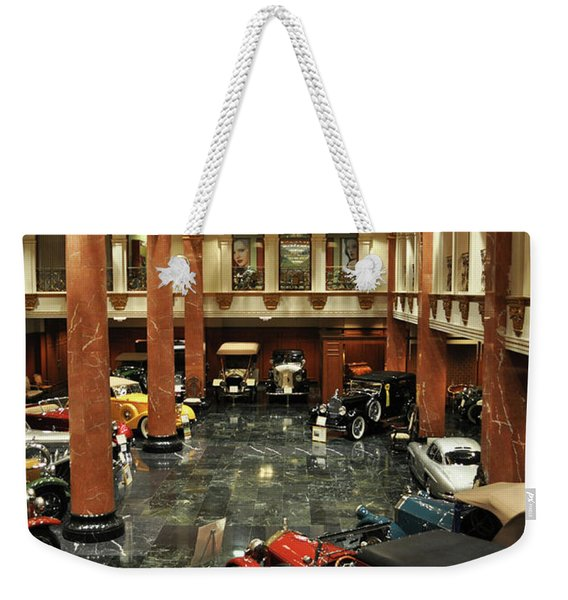 Grand Salon At The Nethercutt Weekender Tote Bag
