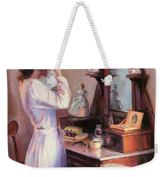 The New Hat Weekender Tote Bag