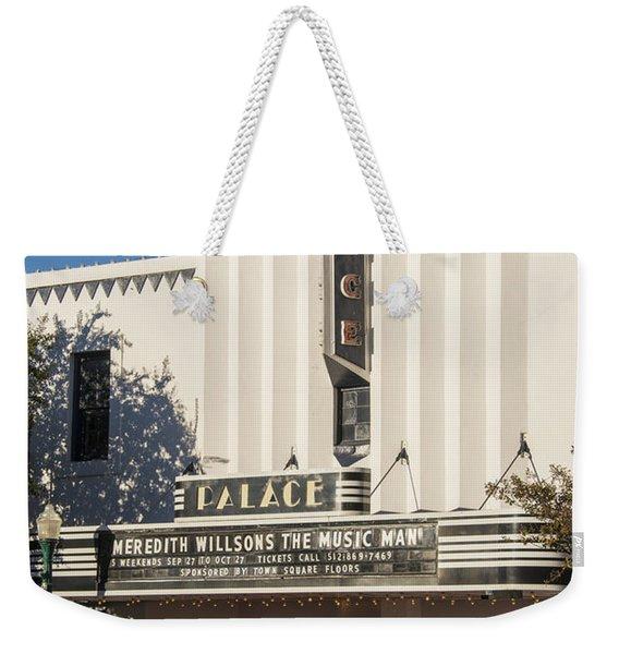 The Palace In Georgetown Texas Weekender Tote Bag