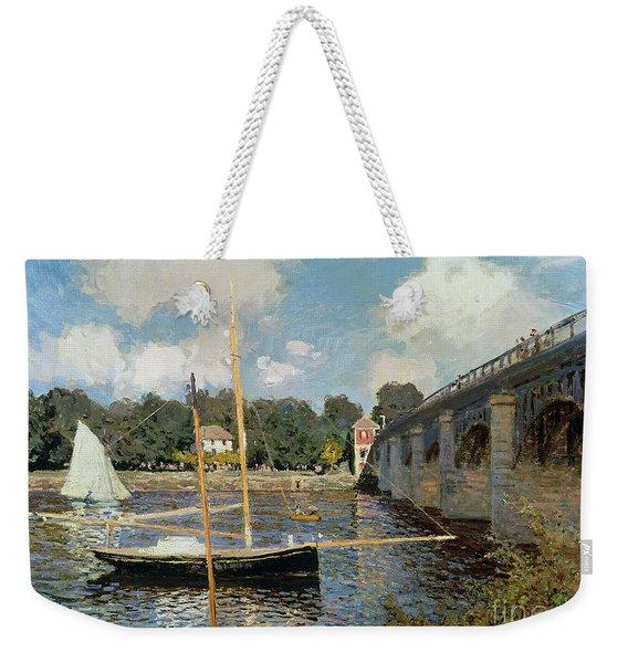 The Seine At Argenteuil Weekender Tote Bag