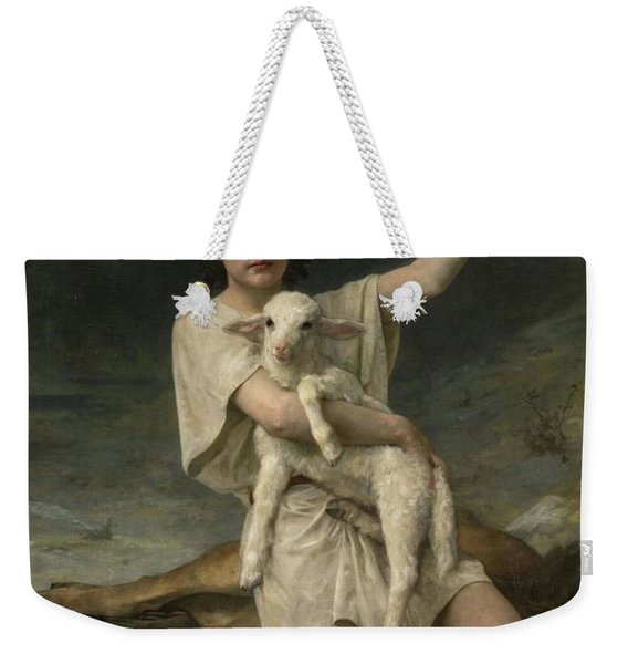 The Shepherd David Triumphant Weekender Tote Bag