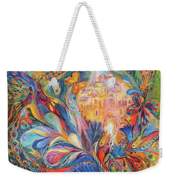 The Spirit Of Jerusalem Weekender Tote Bag