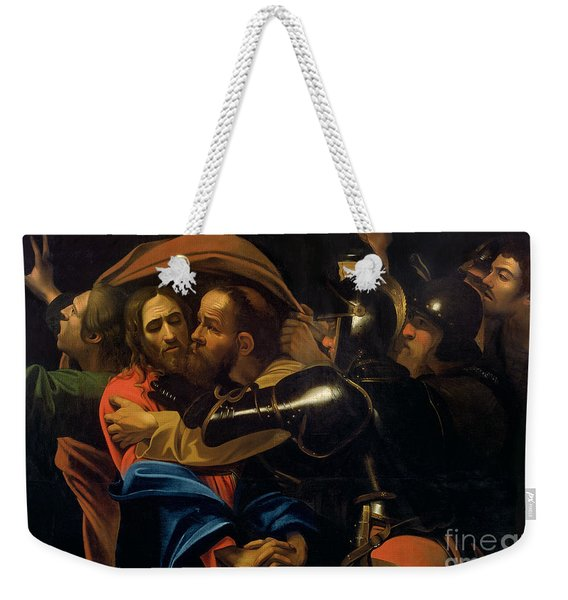 The Taking Of Christ Weekender Tote Bag