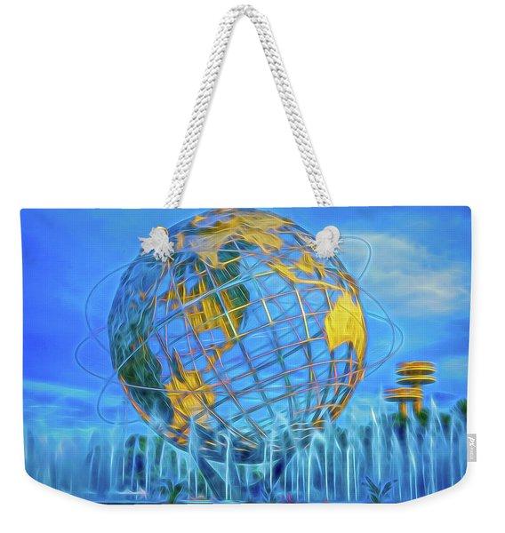 The Unisphere Weekender Tote Bag