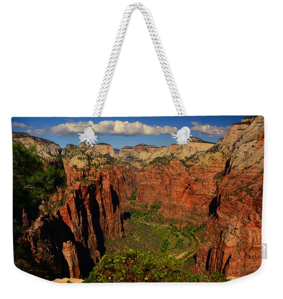 The Virgin River Weekender Tote Bag