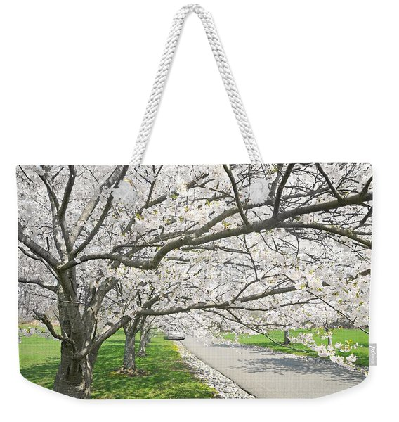 The White Canopy Weekender Tote Bag