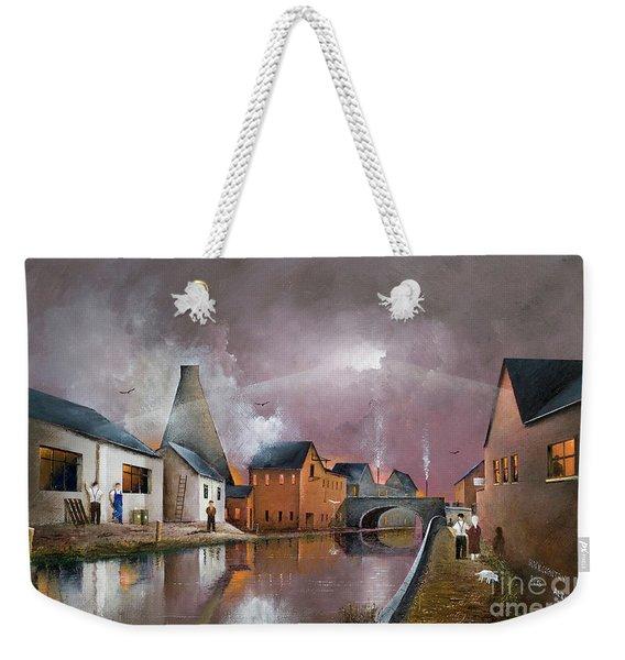 The Wordsley Cone Weekender Tote Bag