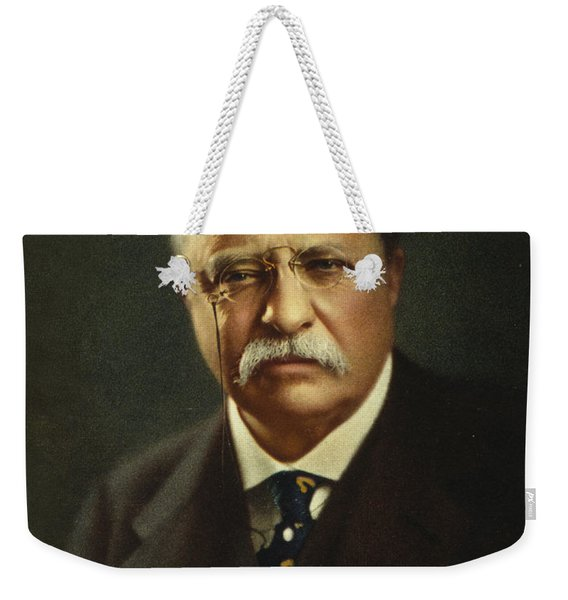 Theodore Roosevelt - President Of The United States Weekender Tote Bag