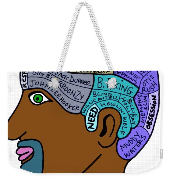 Think Blues Weekender Tote Bag