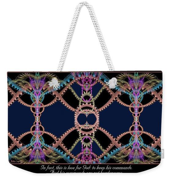 This Is Love Weekender Tote Bag