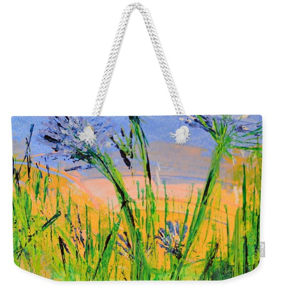 Thistles One Weekender Tote Bag