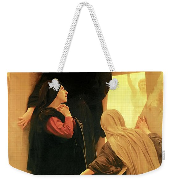 Three Marys At The Tomb Weekender Tote Bag