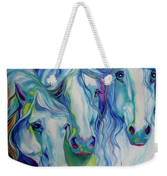 Three Spirits Equine Weekender Tote Bag