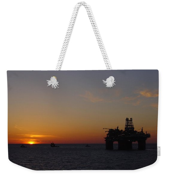 Thunder Horse Tow Out Weekender Tote Bag