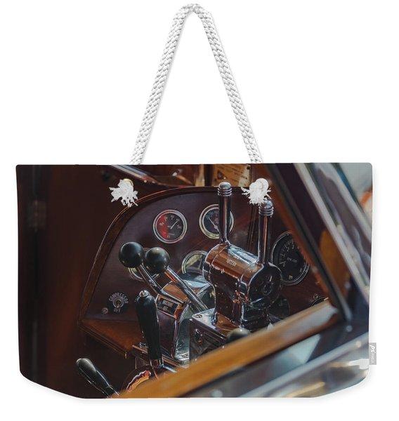 Thunderbird Helm Weekender Tote Bag
