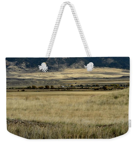 Tobacco Root Mountains Weekender Tote Bag
