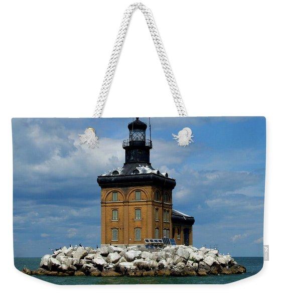 Toledo Harbor Lighthouse Weekender Tote Bag