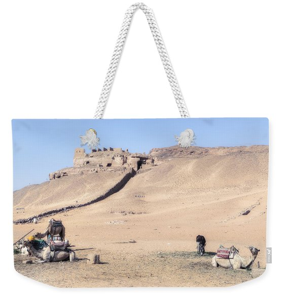 Tombs Of The Nobles - Egypt Weekender Tote Bag