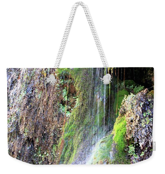 Tonto Waterfall Cave Weekender Tote Bag