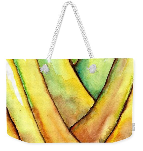 Travelers Palm Trunk Weekender Tote Bag