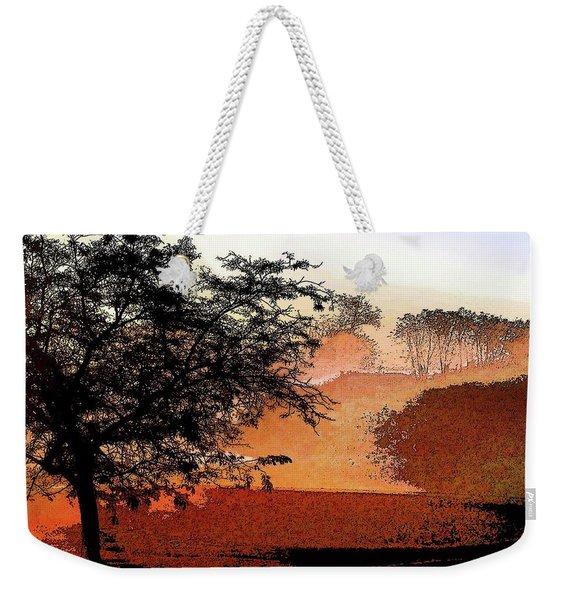 Tree In Morning Light Weekender Tote Bag