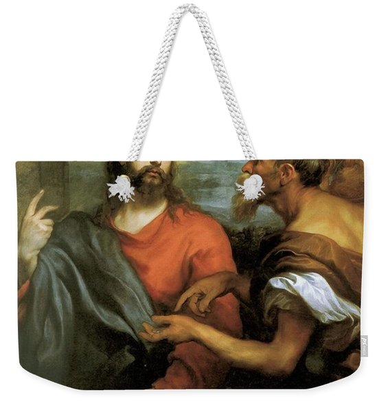 Tribute Money Weekender Tote Bag