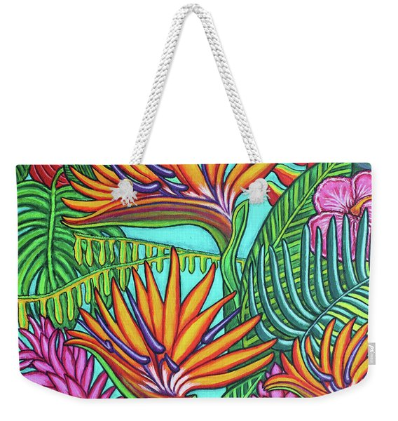 Tropical Gems Weekender Tote Bag