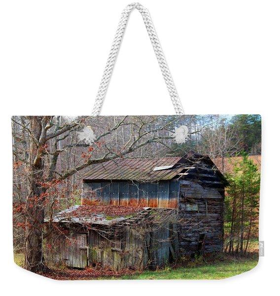 Tumbledown Barn Weekender Tote Bag