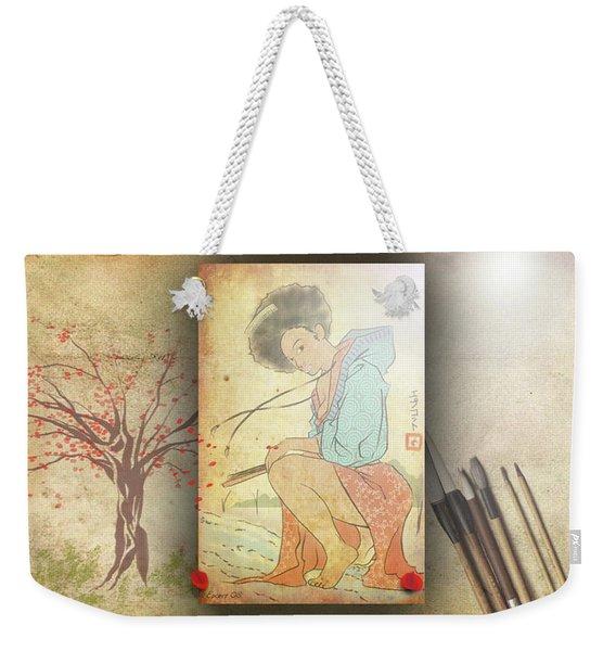 Ukyo-e Soul Weekender Tote Bag