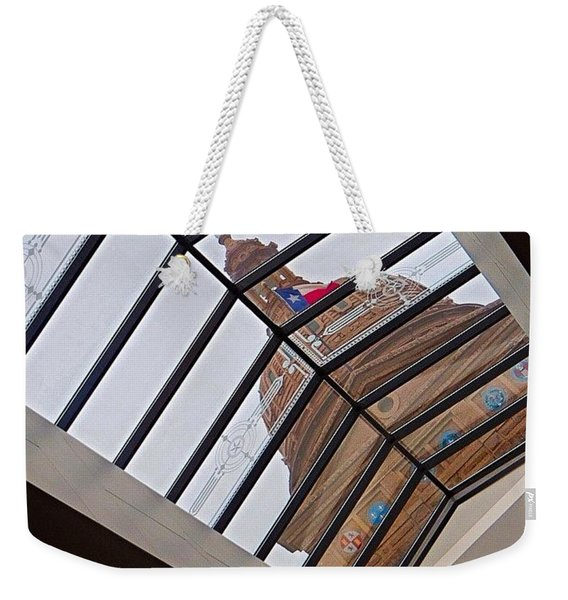 #underground In The #texas #capital Weekender Tote Bag