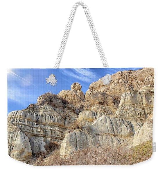 Unstable Cliffs Weekender Tote Bag