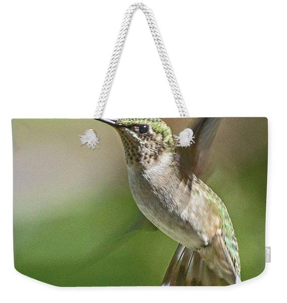 Untitled Hum_bird_five Weekender Tote Bag