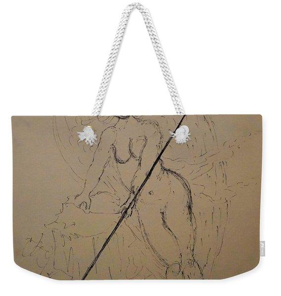 Unveiled Beauty Weekender Tote Bag